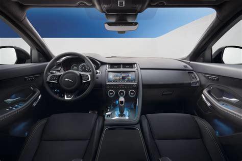 jaguar  pace svr interior high resolution pictures