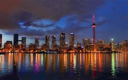 Toronto Skyline Ontario Bilder Kanada Dubai November