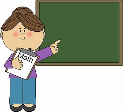 Clipart Teacher Cliparts Clip Library Math