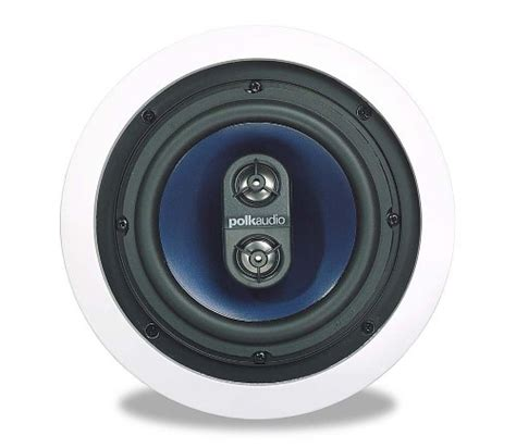 Polk Angled In Ceiling Speakers by Polk Audio Rc6s In Ceiling Stereo Speaker Single White