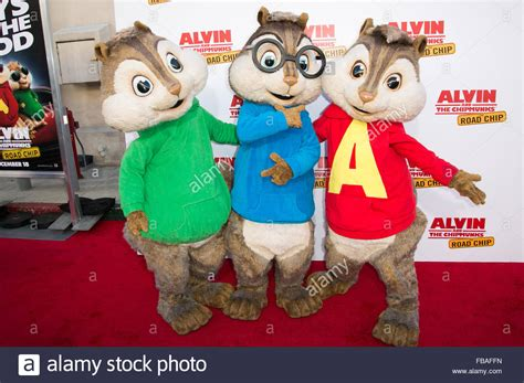 alvin   chipmunks  road chip premiere