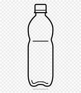 Plastic Bottle Para Coloring Botella Pinclipart Plastico Colorear sketch template