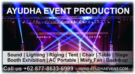 ayudha event produksi acara rental alat