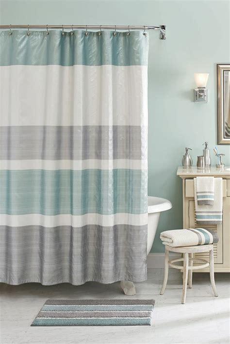 neutral shower curtain 15 bathroom shower curtain ideas custom home design 1069