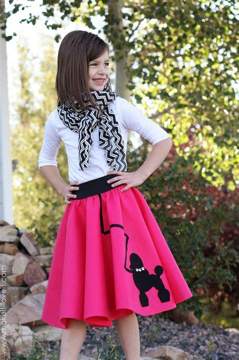 halloween costume ideas   sew poodle skirt