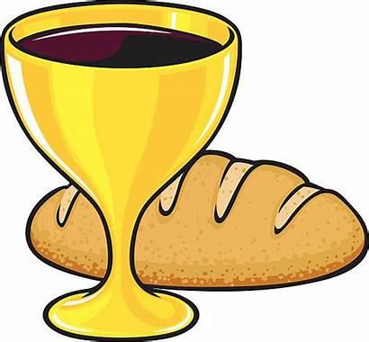 Communion Bread Wine Clipart Clip Cartoon Kommunion