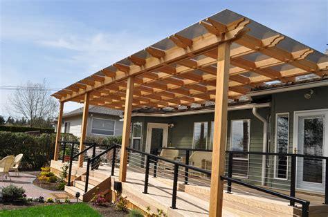 pergola roof cover pergola design ideas waterproof pergola covers ipe deck with cedar pergola and stainless steel