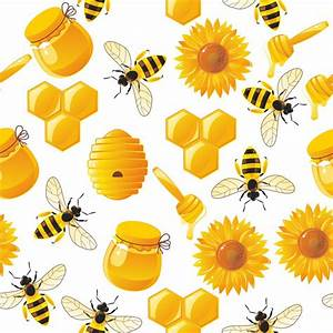 Papier peint abeilles de bande dessinee animes et miel for Kitchen cabinets lowes with poser papier peint