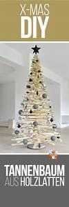Weihnachtsbaum Aus Holzlatten : diy weihnachtsbaum aus holzlatten holzlatten weihnachtsb ume und diy anleitungen ~ Markanthonyermac.com Haus und Dekorationen