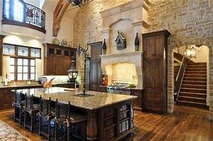 old world tuscan rustic elevations rustic tuscan kitchen With what kind of paint to use on kitchen cabinets for tuscan metal wall art
