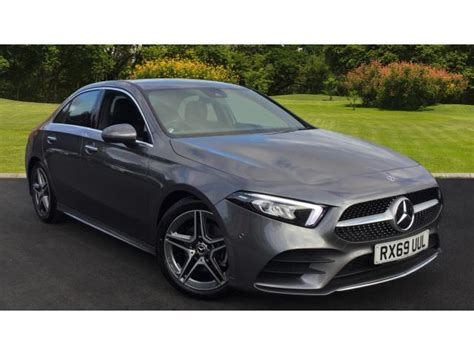 Buy a new car online. Used 2019 Mercedes-Benz A-Class A180d AMG Line Premium 4dr Auto Diesel Saloon for sale in ...