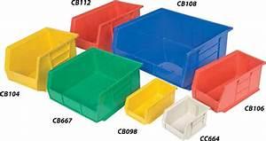 Bacs En Plastique Rangement Multi Industriel