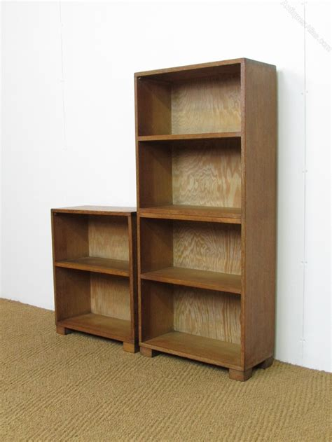 Heals Bookcase by Heal S Limed Oak Unit Bookcases Antiques Atlas
