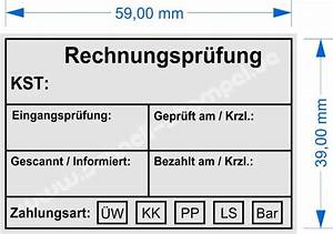 Zahlart Rechnung : kontierungsstempel rechnung schnell stempel ~ Themetempest.com Abrechnung
