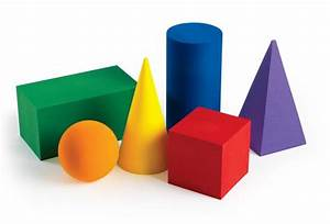 Foam Geometric Solids Set Of 6