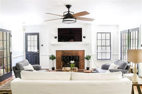 and in livingroom living room update ceiling fan bless 39 er house