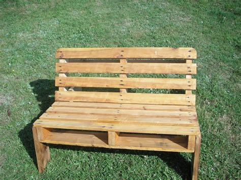 plan chaise de jardin en palette construire retaper un salon de jardin en palettes