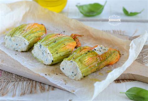 fiori di zucchine ripieni ricotta fiori di zucca e ricotta al forno ricetta veloce