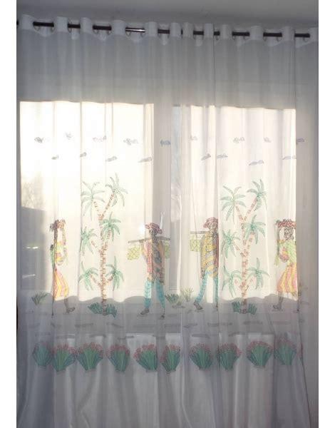 voilage porte fenetre rideau voilage porte fen 234 tre brod 233 224 la points d ombre blanc