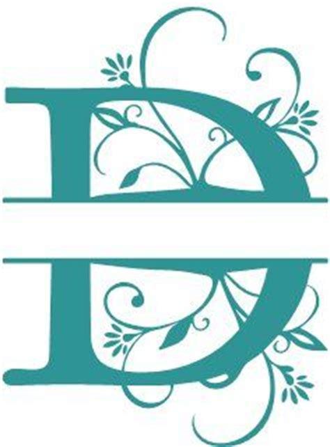 alphabets split monograms printables  stencils pinterest monograms  cricut