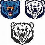 Bear Mascot Roaring Vector Club Team Sport