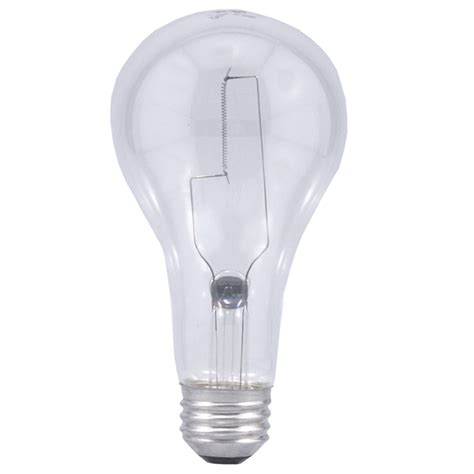shop sylvania 200 watt indoor dimmable soft white a21