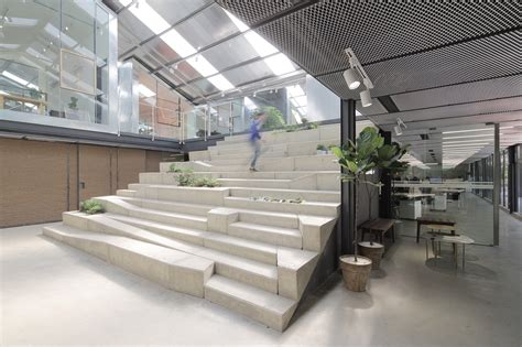 Modern Work Of Mexican Architecture by Work Studio In A Plant House O Office Architects Archdaily