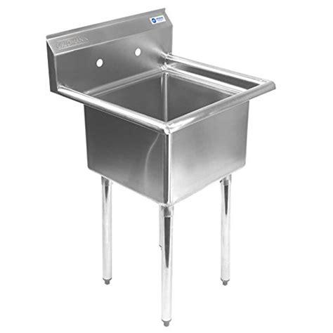 one compartment stainless steel sink gridmann 1 compartment nsf stainless steel commercial