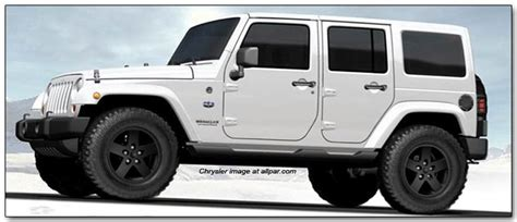 2012 Jeep Wrangler And Liberty Arctic Edition