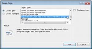 Microsoft Office Tutorials Open The Organization Chart