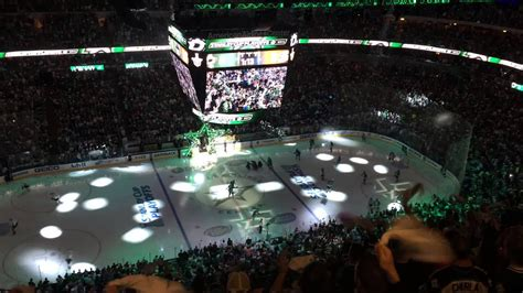 Dallas Stars take ice for first playoff game since 2008 ...