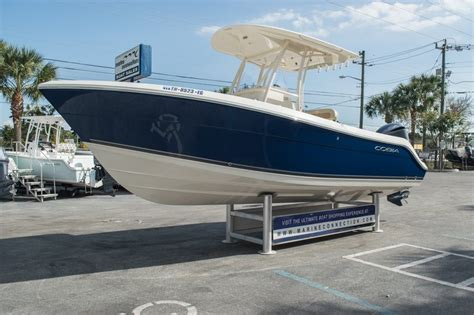 used 2014 cobia 237 center console boat for sale in west palm fl p027 new used