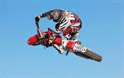 Motocross Racing Honda Bull Freestyle Wallpapers Screensavers