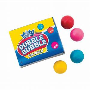 Dubble Bubble® Mini Gumball Boxes - Oriental Trading ...