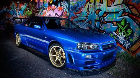 1080p Gtr R34 Wallpaper by Nissan Skyline Gt R R34 Wallpapers 70 Images