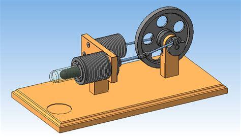 Проект действующая модель двигателя стирлинга скачать