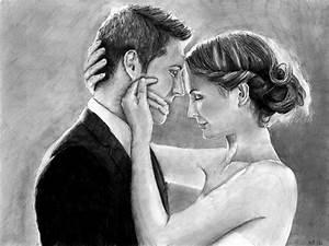 Dessin Couple Mariage Noir Et Blanc : mariage nj dessins personnalis s ~ Melissatoandfro.com Idées de Décoration