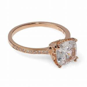 Rose Gold Cushion Cut Engagement Rings – Beautiful Ring ...