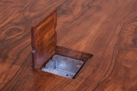 hardwood floors outlet install an electric outlet in the office conference table and conveniently power laptops