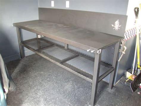 garage page  welding bench