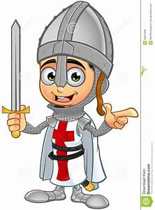 St. George Boy Knight Character Stock Vector - Image: 52872406