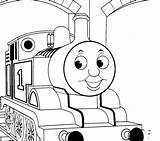 Train Thomas Coloring Pages Tank Drawing Caboose Track Sherman Engine Tracks Printable Getcolorings Getdrawings Print sketch template
