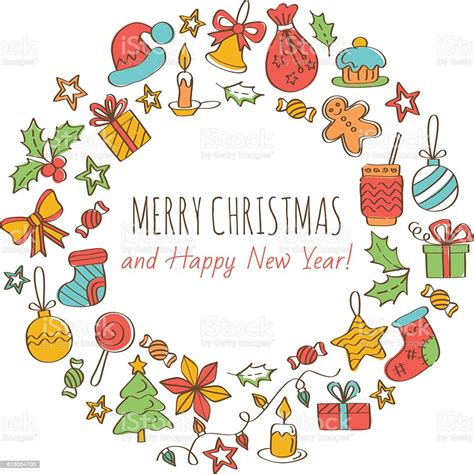 Find & download free graphic resources for merry christmas and happy new year. Merry Christmas And Happy New Year Greeting Card Stock ...