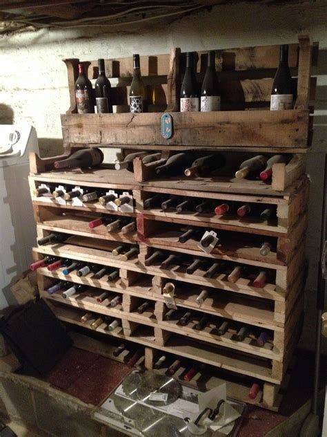 wine rack upcycled pallets pallet   pallet