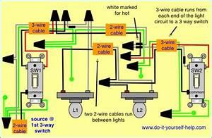 Three Way Switch Wiring Diagram Multiple Lights  U2013 Bestharleylinks Info