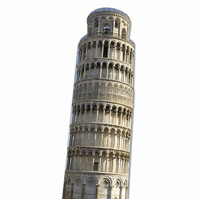Tower Pisa Clipart Leaning Italy Transparent Pluspng