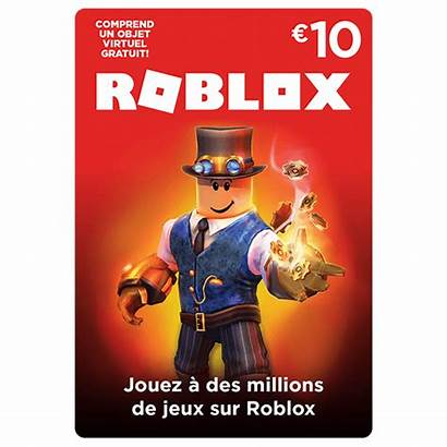 Roblox Robux Card Gift 800 Code Carte