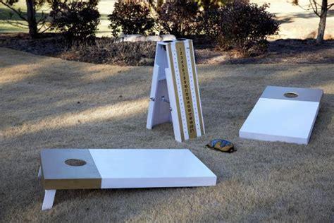 build  cornhole scoreboard diy