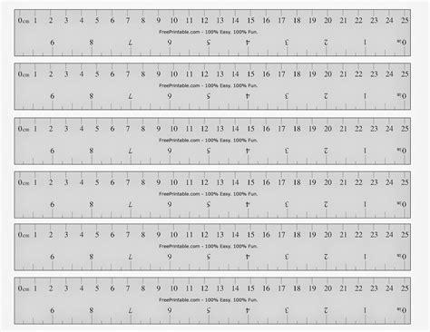 printable ruler printable cards