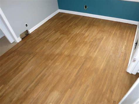 help floor stains looks blotchy and uneven doityourself community forums - Hardwood Floors Uneven